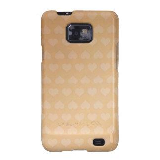 GOLDEN Hearts Light Shade by NAVIN JOSHI Gifts Samsung Galaxy S2 Case