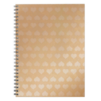 GOLDEN Hearts Light Shade by NAVIN JOSHI Gifts Spiral Note Book