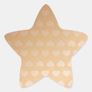 GOLDEN Hearts Light Shade by NAVIN JOSHI Gifts Star Sticker