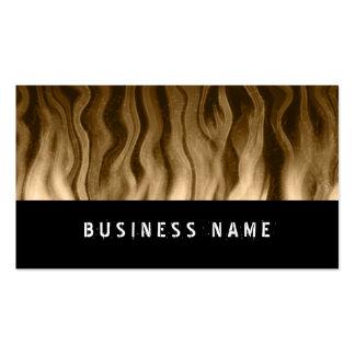 golden heat ~ bc business card templates