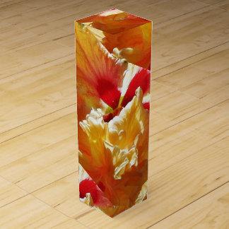 Golden Hibiscus Wine Box
