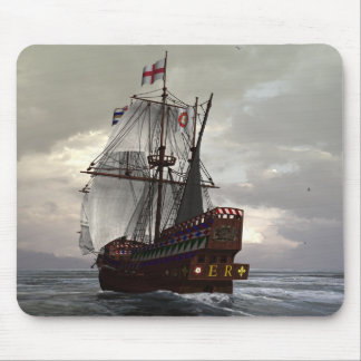 Golden Hind Mouse Pads