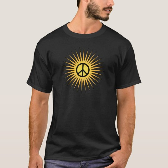 Golden hippie sun T-Shirt