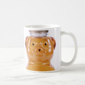 Golden Honey Bear Face Mug