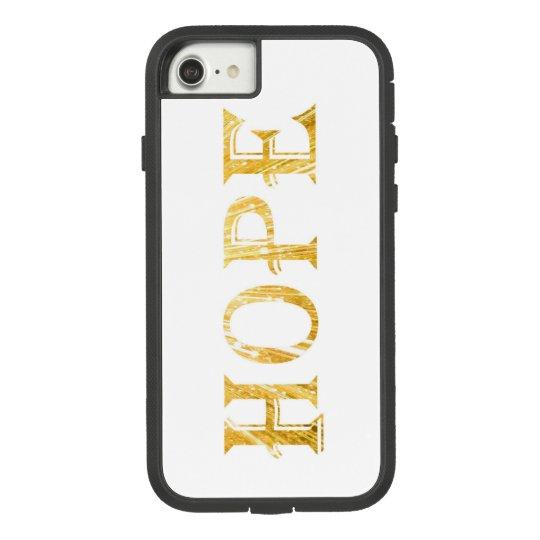 Golden Hope Text Apple iPhone 7, Tough Xtreme