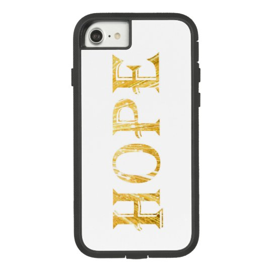 Golden Hope Text Apple iPhone 7, Tough Xtreme