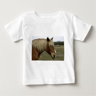 Golden horse baby T-Shirt