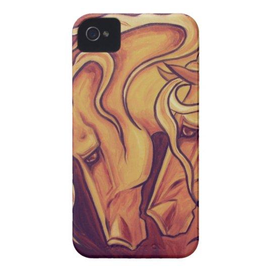 Golden Horses II iPhone 4 Case-Mate Cases