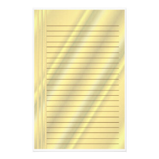 Golden Hues Stationery