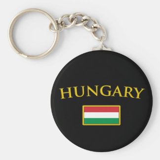 Golden Hungary Key Ring