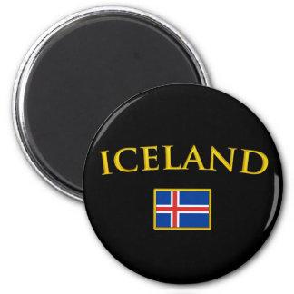 Golden Iceland Magnet