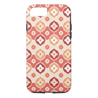 Golden ikat geometric pattern iPhone 8/7 case