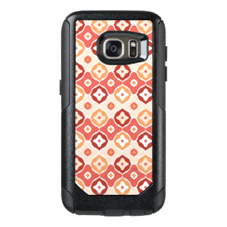 Golden ikat geometric pattern OtterBox samsung galaxy s7 case