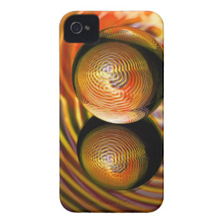 Golden in the crystal ball Case-Mate iPhone 4 case