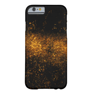 Golden ink or water splash barely there iPhone 6 case