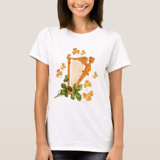 GOLDEN IRISH HARP T-Shirt