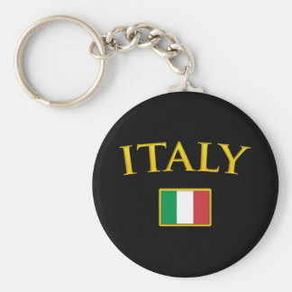 Golden Italy Key Ring