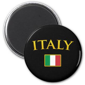 Golden Italy Magnet