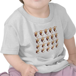 Golden JEWEL Decoration Pattern XMAS Diwali GIFTS T Shirt