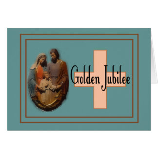 Golden Jubilee Gifts for Nuns Card