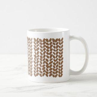 Golden Knitting Mug
