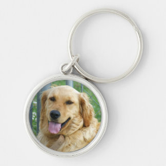 Golden Lab Keychain