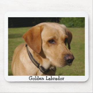 Golden Labrador Mouse Mat