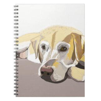 Golden Labrador Notebook