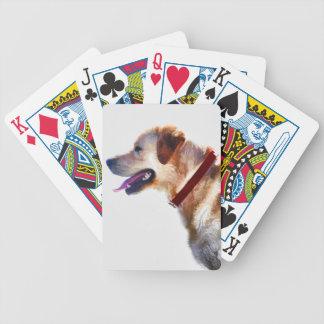 Golden Labrador Retriever Dog-lover Gift Bicycle Poker Deck