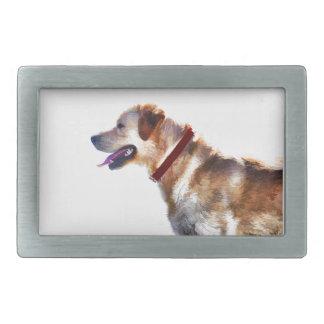 Golden Labrador Retriever Dog-lover Gift Rectangular Belt Buckle