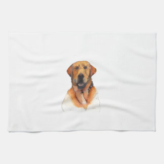 Golden Labrador Retriever Kitchen Towels