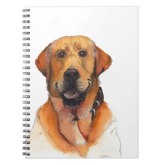 Golden Labrador Retriever Notebook