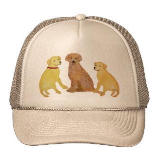 Golden Labrador Retrievers Hat