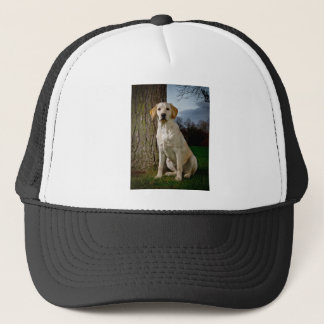 golden Labrador Trucker Hat