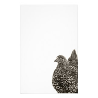 Golden Laced Wyandotte Chicken Personalised Stationery