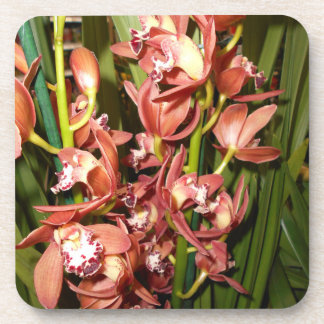 Golden Leaf - Edge Orchids Coaster
