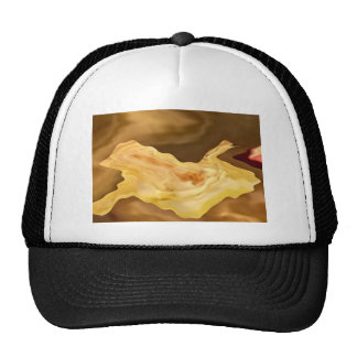 Golden Leaf -  Gold Color Therapy Art Mesh Hat