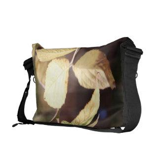Golden Leaf Messenger Bag