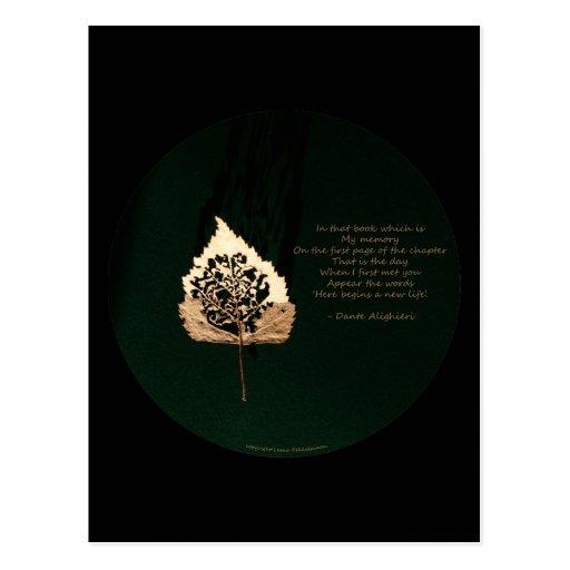 Golden Leaf Postcard
