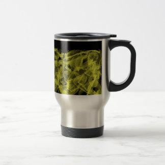 Golden Leaf Stainless Steel Travel Mug
