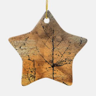 Golden Leaves Products.. Christmas Ornament