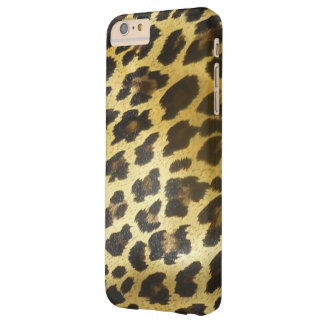 Golden Leopard Fur Barely There iPhone 6 Plus Case