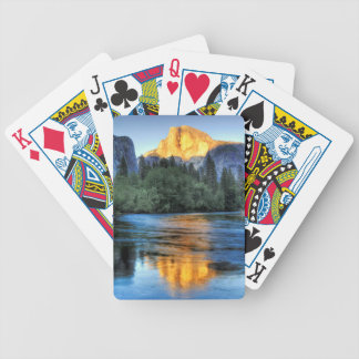 Golden Light on Half Dome Bicycle Playing Cards