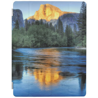 Golden Light on Half Dome iPad Cover