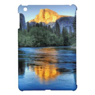 Golden Light on Half Dome iPad Mini Case