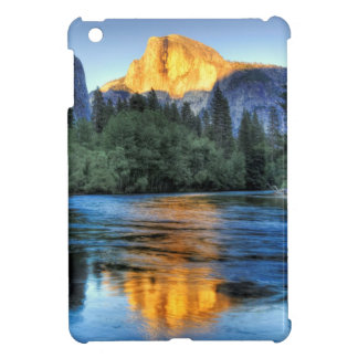 Golden Light on Half Dome iPad Mini Cover