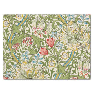 Golden Lily by William Morris Tissue Paper