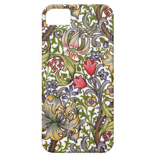 Golden Lily Vintage Floral Pattern William Morris Case For The iPhone 5