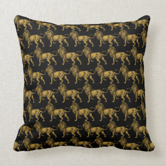 Golden Lion Black TP Cushion