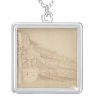 `Golden Lion' from the Starboard Quarter Silver Plated Necklace